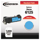 Compatible with 106R01331 (Phaser 6125) Toner, 1000 Yield, Cyan IVR6125C