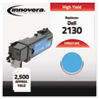 Compatible with 330-1437 (2130cn) Toner, 2500 Yield, Cyan IVRD2130C