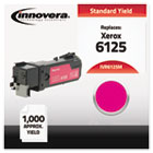 Compatible with 106R01332 (Phaser 6125) Toner, 1000 Yield, Magenta IVR6125M