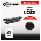 UX3CR Compatible, Remanufactured, UX3CR  Thermal Transfer, 200 Yield, Black IVRUX3CR