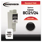 Compatible with 6881A003AA (BCI24BK) Ink, 200 Page-Yield, Black IVR2124BK