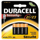 CopperTop Alkaline Batteries with Duralock,12V, 4/Pk DURMN21B4PK