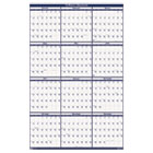 Poster Style Reversible/Erasable Yearly Wall Calendar, 18 x 24, 2014 HOD3960