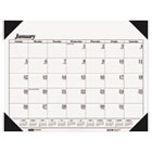 Workstation-Size One-Color Monthly Desk Pad Calendar, 18-1/2 x 13, 2015 HOD0124