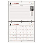 Wounded Service Member Project Monthly Desk/Wall Calendar, 11 x 8-1/2, 2015 AAGPMW1728