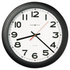 "Norcross Auto Daylight-Savings Wall Clock, 15-3/4"", Black, 1 AA MIL625509"
