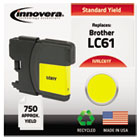 Remanufactured LC61Y Ink, 325 Page-Yield, Yellow IVRLC61Y