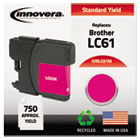 Remanufactured LC61M Ink, 325 Page-Yield, Magenta IVRLC61M