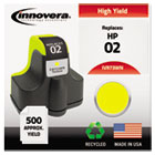 Remanufactured C8773WN (02) Ink, 500 Page-Yield, Yellow IVR73WN