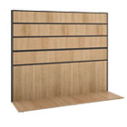 Basyx by HON Manage Series Wheat Office Furniture Collection BSXMGWKWLWHA1