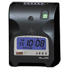 Biometric Fingerprint Time Clock, Black/Red Ink, 6 x 5 x 9 ACP010270000