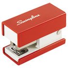 Mini Fashion Stapler, 12-Sheet Capacity, Red SWI87873