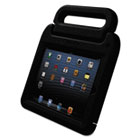 SafeGrip Rugged Carry Case and Stand, for iPad, Charcoal KMW67792