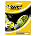 Brite Liner Highlighter Tape, Yellow BICBLHTP11YW