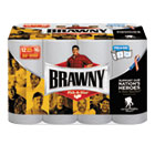 Brawny Paper Towels, White, 102 Sheets/Roll, 12 Rolls/Carton GEP445565