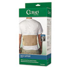 "Back Support, Elastic, 33"" to 48"" Waist Size, 33w 48d x 10h, 6 Stays, Beige MIIORT22000D"