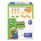 LeapFrog Mini Dry Erase Book, Math Skills, Grades K-1, 8 Pages BDU19454UA24