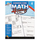 Common Core 4 Today Workbook, Math, Grade 4, 96 pages CDP104593