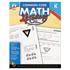 Common Core 4 Today Workbook, Math, Kindergarten, 96 pages CDP104589