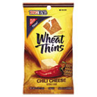Wheat Thins Crackers, Chili Cheese, 2.5 oz Bag, 12/Carton CDB03482