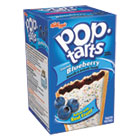 Pop Tarts, Frosted Blueberry, 3.52oz, 2/Pack, 6 Packs/Box KEB31031