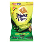 Wheat Thins Crackers, Zesty Salsa, 2.5oz Bag, 12/Carton CDB03240