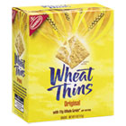 Wheat Thins Crackers, Original, 4 oz Box, 12/Carton CDB04688