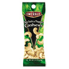 Sea Salt and Pepper Cashews, 1.25 oz. Tube Package, 12/Box DFD93817