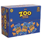 Zoo Animal Crackers, Original, 2 oz Pack, 36 Packs/Box KEB827545