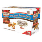 Mini Pretzels, Original, 0.9 oz Bags, 60/Carton SNY827582