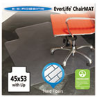 45x53 Lip Chair Mat, Multi-Task Series for Hard Floors, Heavier Use ESR132123