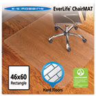 46x60 Rectangle Chair Mat, Economy Series for Hard Floors ESR131826