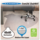 "66x60 Workstation Chair Mat, Professional Series AnchorBar for Carpet up to 3/4"" ESR122775"