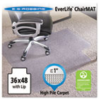 "36x48 Lip Chair Mat, Performance Series AnchorBar for Carpet up to 1"" ESR124054"