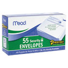 Press-it Seal-it Security Envelope, 3 5/8 × 6 1/2, 20 lb, White, 55/Box MEA75030