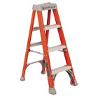 "Fiberglass Heavy Duty Step Ladder, 50"", Orange, 3 Steps DADFS1504"
