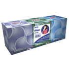 KLEENEX BOUTIQUE Anti-Viral Tissue, 3-Ply, POP-UP Box, 68/Box, 3 Boxes/Pack KIM21286