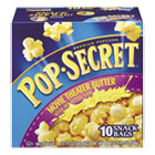 Microwave Popcorn, Movie Theatre Butter, 1.75 oz Bags, 10/Box DFD28783