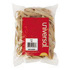Rubber Bands, Size 64, 3-1/2 x 1/4, 80 Bands/1/4lb Pack UNV00464
