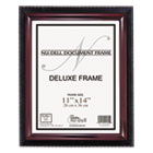 Executive Document Frame, 11 x 14, Black/Mahogany NUD17403