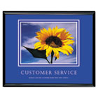 """Customer Service"" Framed Motivational Print, 30 x 24 AVT78027"