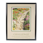 """Challenge"" Framed Motivational Print, 24 x 30 AVT78032"