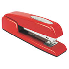 747 Business Full Strip Desk Stapler, 20-Sheet Capacity, Rio Red SWI74736