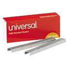 Standard Chisel Point 210 Strip Count Staples, 5,000/Box, 5 Boxes per Pack UNV79000VP