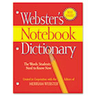 Notebook Dictionary, Three Hole Punched, Paperback, 80 Pages MERFSP0566