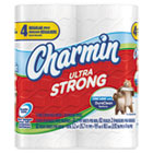 Ultra Strong Bathroom Tissue, 2-Ply, White, 4 x 4, 82/Roll, 4/Pack, 24/Carton PAG86529PK