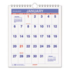 """Mini Monthly Wall Calendar, 6-1/2"""" x 7-1/2"""", White, 2015 AAGPM528"""