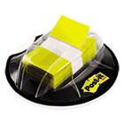 Flags in Desk Grip Dispenser, 1 x 1 3/4, Yellow, 200/Dispenser MMM680HVYW