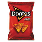 Nacho Cheese Tortilla Chips, 2.875 oz Bag, 28/Carton LAY56147