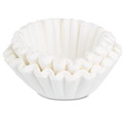 Coffee Filters, 10/12-Cup Size, 100/Pack BUNBCF100B